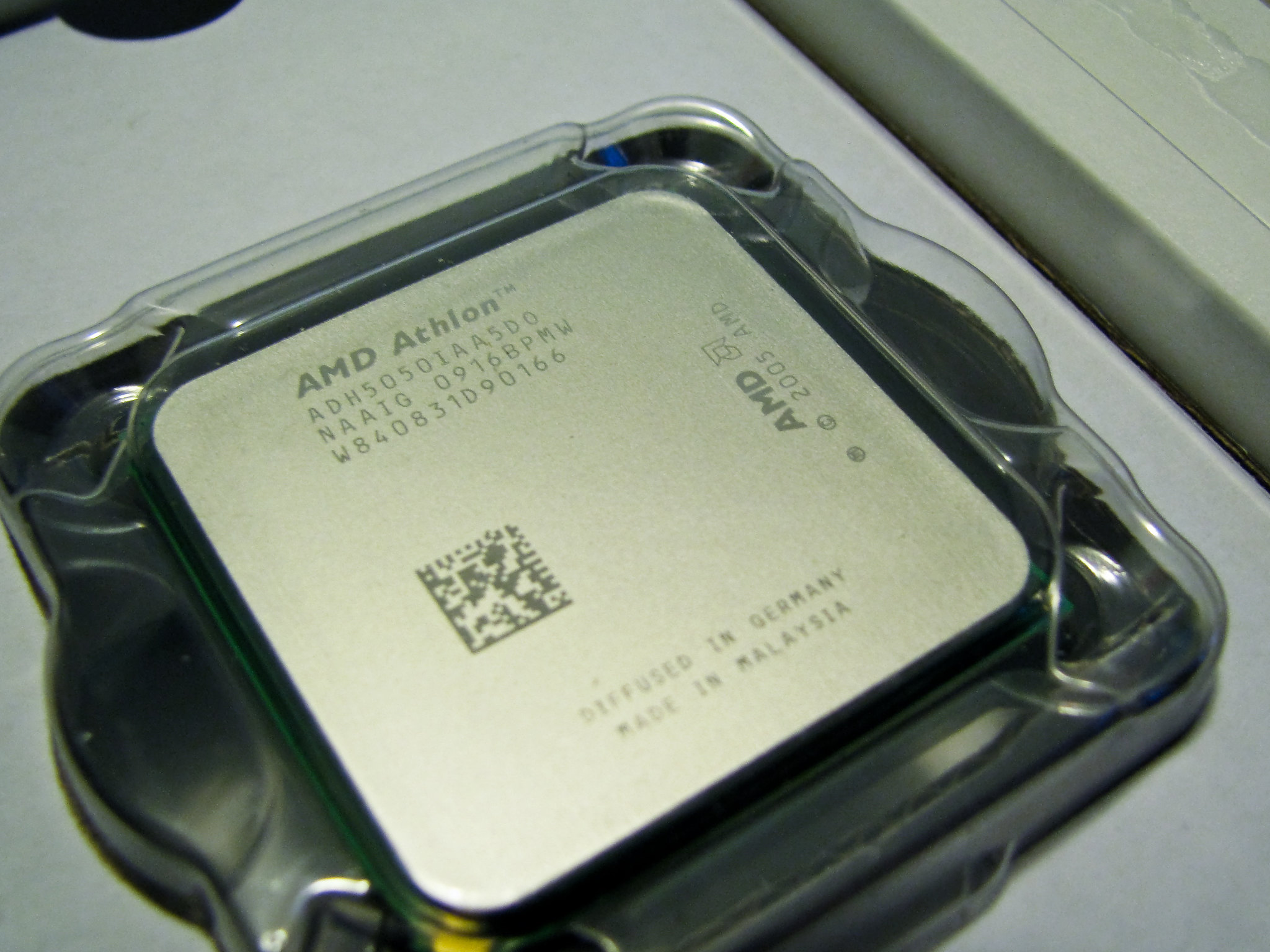 CPU AMD Athlon 64 X2 5050e